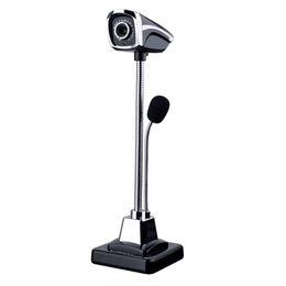 2018 Новый M800 USB 2.0 проводной веб-камеры ПК ноутбук 12 миллионов пикселей видеокамера регулируемый угол HD LED ночного видения с микрофоном