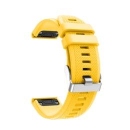 Смотреть группа быстрого выпуска наручные часы ремешок ремешок для Garmin Fenix 5 Предтеча 935 GPS ремешок для часов печатных мода спорт силиконовые