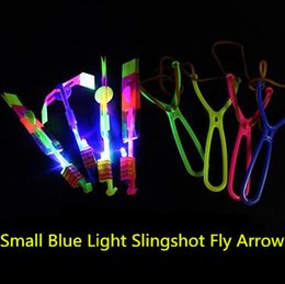 $enCountryForm.capitalKeyWord Australia - 300pcs HOT Funny Glowing Toys LED Flashing Light Flying Toys Arrow Rocket Helicopter Color Light Up Luminous Classic Toys for boys