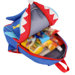 good quality girls school bags 2019 - Fashional cartoon Animal 3D printed Shark School Bag children pink Rabbit Backpack Children lovely Puppy canvas Shoulder