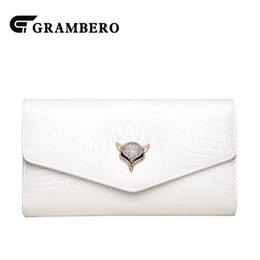 decoration purses 2019 - Fashion Fair Lady Clutch Purse Patent Leather PU Leather Solid Color Animal Decoration Modern Clutches Wallet Chain Shou