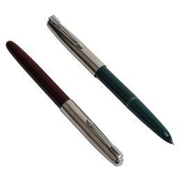 $enCountryForm.capitalKeyWord UK - 1PCS GENKKY Fountain Pen 0.38mm High Quality Fountain Pens Full Metal Luxury Pens Office School Stationery Supplies