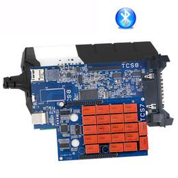 Car diagnostiC sCanner Cdp online shopping - OBD2 scanner CDP TCS cdp pro Bluetooth R3 keygen software OBDII code reader diagnostic tool for cars trucks as multidag pro