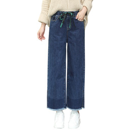 Chinese  jeans woman wide leg denim pants jeans femme loose trousers for women casual vintage bottom winter manufacturers
