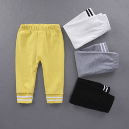 $enCountryForm.capitalKeyWord NZ - Toddler Kids Harem Pants Newborn Baby Boys Girls Trousers Leggings Size Age 0-6Y Striped cotton trousers