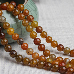 $enCountryForm.capitalKeyWord NZ - 8 10 12 mm Round Natural Dragon pattern Agate Beads gemstone Loose Beads For Bracelet DIY Jewelry Making more size