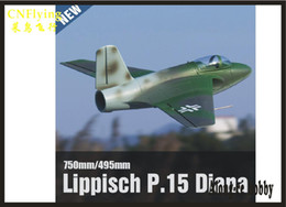 EPO RC plane airplane RC MODEL HOBBY TOY NEW 64MM EDF FREEWING Lippisch P.15 Diana JET PLANE PNP SET (NO REMOTE NO BATTERY NO CHARGER) on Sale