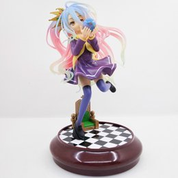 Creative Game Of Life Anime Life No Game No Life Cat Game Of Life Painted Second Generation Pvc Action Figure Model Toys 7cm Toys & Hobbies