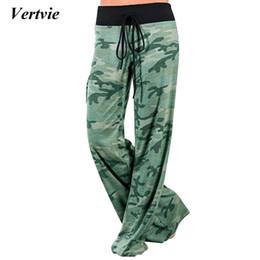 881dedc8f4f Women Loose Camouflage Hot Yoga Pants Wide Leg Patchwork High Waist Pants  Plus Size xxxl Fitness Gym Dancing Yoga training