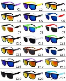 Vente en gros Nouveau 21 Couleurs Unisexe Designer Designer Espionné Ken Block Helm Lunettes de soleil Mode Sports Lunettes de soleil Oculos De Sol Lunettes de soleil Eyeswear DHL gratuit