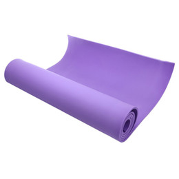 Discount yoga mats - Wholesale! 6cm Thick Non-slip Fitness Pilates Yoga Mat Pad purple 173*61cm