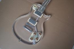 $enCountryForm.capitalKeyWord Canada - High Quality Crystal electric guitar, Mother of pearl inlaid fingerboard, Accept customization guitar