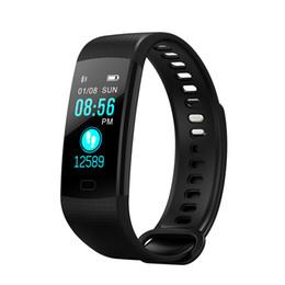 "Monitor Display Test UK - Y5 Waterproof Smart Bracelet 0.96"" TFT Display Heart Rate Monitoring Wristband Blood Pressure Blood Oxygen Testing Smart Band"