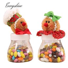 $enCountryForm.capitalKeyWord Australia - Mixed 2pcs lot Cartoon Gingerbread Man Christmas Candy Storage Box Jar Bottle Xmas Home Organization Decoration Sugar Case DS360