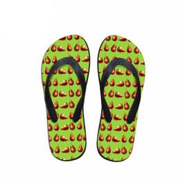 34fdc9231736c5 wholesale Women Casual Flip Flops 3D Fruit Puzzle Prints Summer Shoes Flats Sandals  Woman Non-slip Home Slippers Female