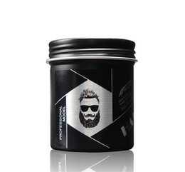 Wholesale 100g Black Hair Clay Wax Stereotypes Fluffy Men and Women Waxes Strong Style Restoring Pomade Hairs Gel Tools 10pcs