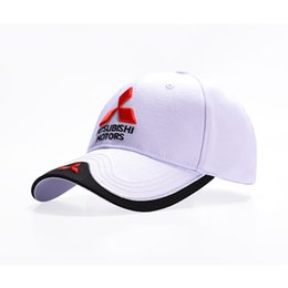 New Car Caps Motogp Moto Racing F1 Baseball Cap Men Women Adjustable Casual  Trucker Hat Wholesale Retail 3D Logo Mitsubishi Hat 500e773659b9
