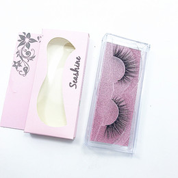 human lashes UK - 2018 Seashine silk eyelashes crisscross handmade false 3D strip silk eyelashes thick faux mink eyelashes Makeup free shipping