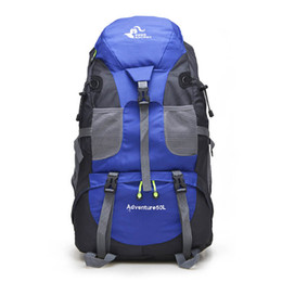 $enCountryForm.capitalKeyWord UK - Silanda Sports Climbing Backpack 50L Waterproof Outdoor Rucksack Cycling Hiking Backpack Trekking Camping Bag Mountain Backpack
