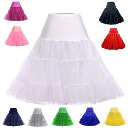 $enCountryForm.capitalKeyWord Australia - Free Short Organza Halloween Petticoat Crinoline Vintage Wedding Bridal Petticoat for Wedding Dresses Soft Underskirt Rockabilly No Hoop