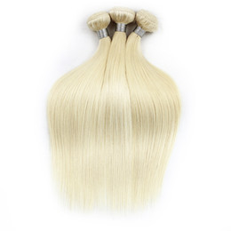 Chinese  1kg Wholesale 10 bundles 613 Blonde Extensions Virgin Hair Straight Two Tone Ombre Brazilian Indian Peruvian Remy Human Hair Weave Bundle manufacturers