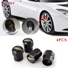 Discount car wheels for skoda - Car stickers tire valves for Skoda VRS octavia 2 a5a7 rapid superb fabia wheel tyre stem air caps car styling 4pcs lot