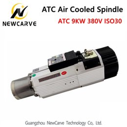 RouteR spindles online shopping - Automatic Tool Change spindle KW V ATC air cooled spindle motor ISO30 RPM for woodworking cnc router NewCarve Spindle