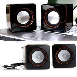 wireless speakers for hi fi 2018 - New Mini Portable USB Audio Music Player Speaker For iPhone iPad MP3 Laptop PC cheap wireless speakers for hi fi