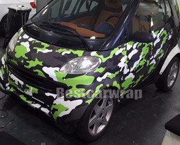 $enCountryForm.capitalKeyWord Australia - Neo Green Camouflage Vinyl For Car Truck Whole Wrap Camo styling Covering Film with air release   Bubble Free Size 1,52x10m 20m 30m Roll