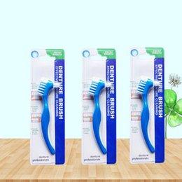 Зубная щетка Y-Shape Dedicated щетка Зубная щетка Двойная для ложных зубов Щетка для чистки Общая очистка
