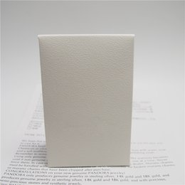 Wholesale Boxes Packaging Australia - Mini White Paper Box Package Gift Bag For Pandora Charm Bead Necklace Earrings Ring Pendant Jewelry Packaging Display