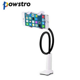 Lazy ceLL phone hoLder online shopping - Cell Phone Holder Universal Flexible Long Arms Smartphone Mount Flexible Long Arm For E readers Lazy Clip on Desktop for Samsung