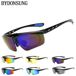 4dfb52eaa0d Sports Sunglasses Men Road Cycling Glasses Mountain Bike Bicycle Riding  Protection Goggles Eyewear Myopia Frame Oculos Ciclismo
