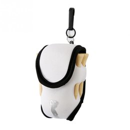 China Neoprene Multifunctional Portable 4 tees and 2 Balls Holder Mini Waist Bag Outdoor Sports Tool Pack Balls Tees Accessories cheap waist accessories suppliers