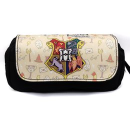 Girls school pencil baG new online shopping - film harry potter school pencil case new arrival pencil case bag makeup bag for girls S923