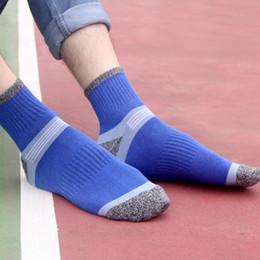 Short Compression Socks NZ - Man Casual Cotton Socks Funny Comfortable Compression Breathable Socks Mens Stripe Stitching High Quality Short Socks2PCS=1PAIRS