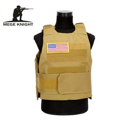 Chinese  MEGE KNIGHTBrand Tactical Vest Men's Quick Release Field Equipment Paintball Game Tan, OD, Black manufacturers
