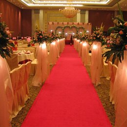 Discount red carpet wedding decorations 2018 red carpet wedding 2018 red carpet wedding decorations 20 meter roll 1meter width new wedding favors red carpet aisle junglespirit Choice Image