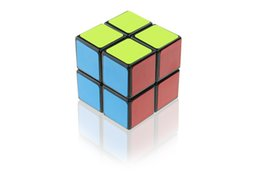 China 2x2 Black Magic Cube Square Puzzle portable Game Play Good Gift For kids And Adult cheap good games for kids suppliers