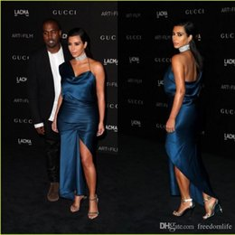 $enCountryForm.capitalKeyWord Australia - Sexy Red Carpet Celebrity Dress CMA Kim Kardashian One Shoulder Sheath Evening Gowns Formal Cocktail Dress Women Wear Party Prom Dresses