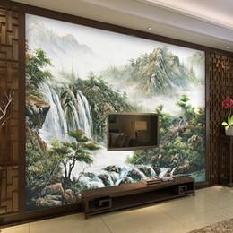 $enCountryForm.capitalKeyWord NZ - Custom wall Mural Wallpaper Chinese Style Landscape Printed Living Room Sofa TV Background home decor WallMurals Wallpaper