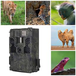 Shipping Mp Camera Australia - Outdoor Hunting Camera 1080P 16MP IP55 PIR Sensor Infrared Night Vision HD farm Cameras Hunting Scouting Stealth Camera Free Shipping VB