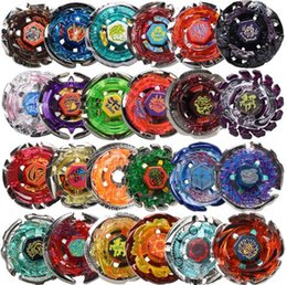 Rapidity Beyblade Wholesale NZ - 24pcs lot Rapidity Battle New Beyblade Gyro Beyblade Spinning Top Toy Beyblade Metal Fusion Without Launcher S20