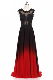 $enCountryForm.capitalKeyWord UK - Vintage Jewel Sheer Neck 2019 Prom Dresses Charming Lace Appliques A-line Sweep Train Mother Dresses of Brides Lace Up Evening Banquets Gown