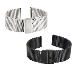 pebble steel band 2019 - Good Sale Smart Watch Strap 22mm Stainless Steel Watch Band Bracelet For Pebble Time Smart Watch+Tool Sep 1 cheap pebble