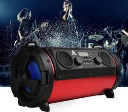 2018 nuevo altavoz bluetooth portátil al aire libre 15W subwoofer multifunción tarjeta micrófono sonido en venta
