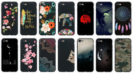 Discount cartoon laces - Flower Matte Soft TPU Case For Iphone XS MAX XR X 10 8 7 6 Galaxy S9 Plus A8 2018 Lace Space Moon Cartoon Black Fashion