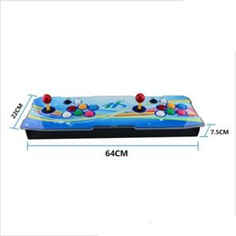 arcade video games consoles 2019 - 2018 [1399 HD Games] Arcade Video Game Console Retro Games Plus Arcade Machine Double Arcade Joystick With Speaker Cooli