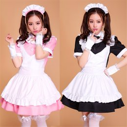 Cosplay Maid Outfits NZ - Shanghai Story Anime Cosplay Costume French Maid Outfit Halloween