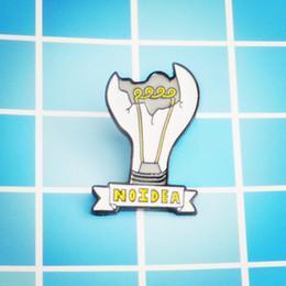Broken Bad Australia - Broken light bulb Brooch Exposed wick NOIDEA bad mood Enamel Pin Expression of mood brooches